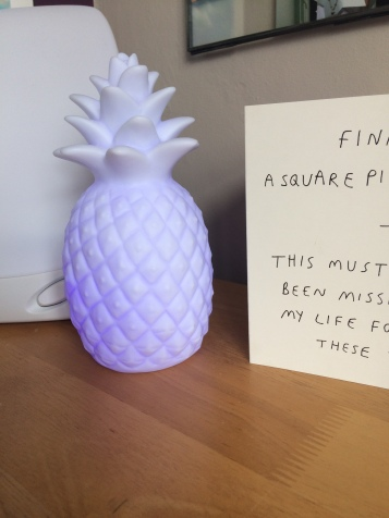 Who doesn't need a colour changing pineapple?